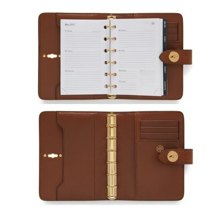 Mulberry 手帳 英国発☆Mulberry☆ Postman's Pocket Book ポケット手帳(5)