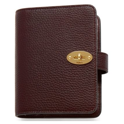 Mulberry 手帳 英国発☆Mulberry☆ Postman's Pocket Book ポケット手帳(6)