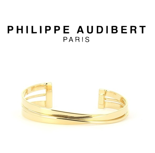 国内発送★Philippe Audibert / BRACELET RIGHT PM☆GOLD