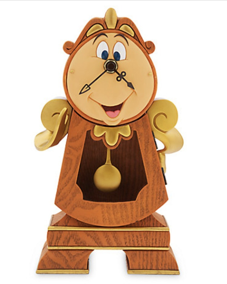 Cogsworth Clock - Beauty and the Beast