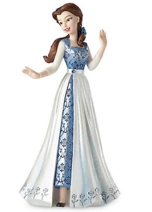 Belle in Blue Dress Couture de Force Figurine