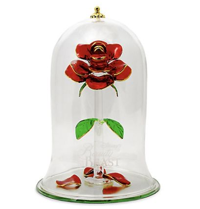 Beauty and the Beast Enchanted Rose by Arribas - Extra Large