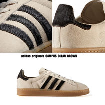 adidas★CAMPUS CLEAR BROWN★ハラコ★スウェード★兼用 22~28cm