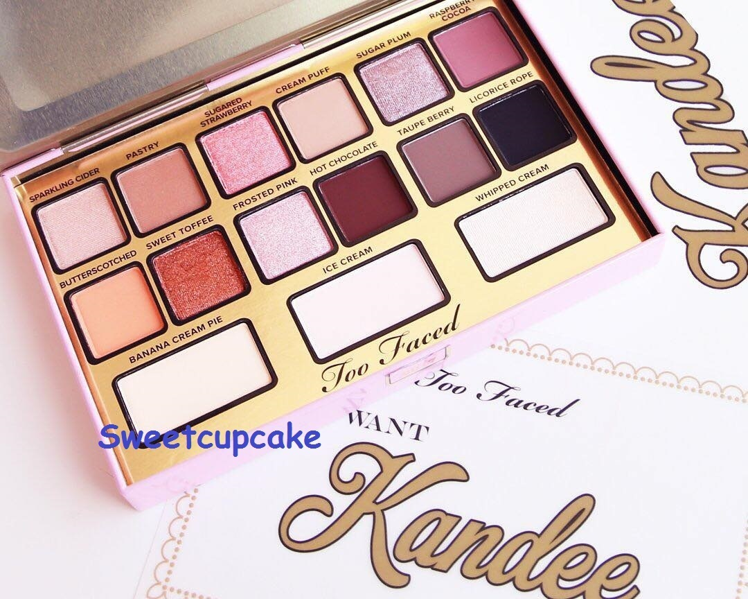 Too Faced I WANT KANDEE CANDY EYES 15色