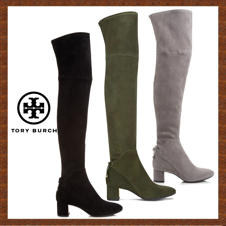 セール★TORY BURCH★3色♪LAILA SUEDE OVER-THE-KNEE BOOT