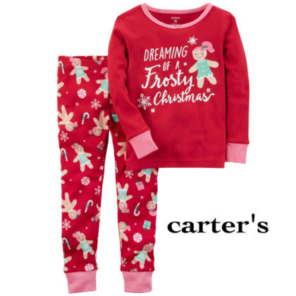 ◇Carter's◇Frosty Christmasパジャマ 姉妹でお揃いも!!