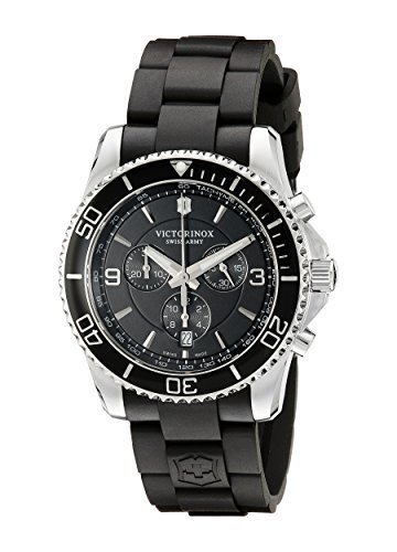 ビクトリノックス Victorinox Men's 241696 Maverick Chrono Ana