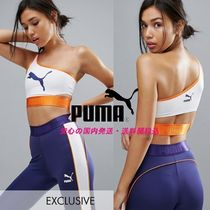 Puma Exclusive To ASOS One Shoulder Low Support Bra Top♪