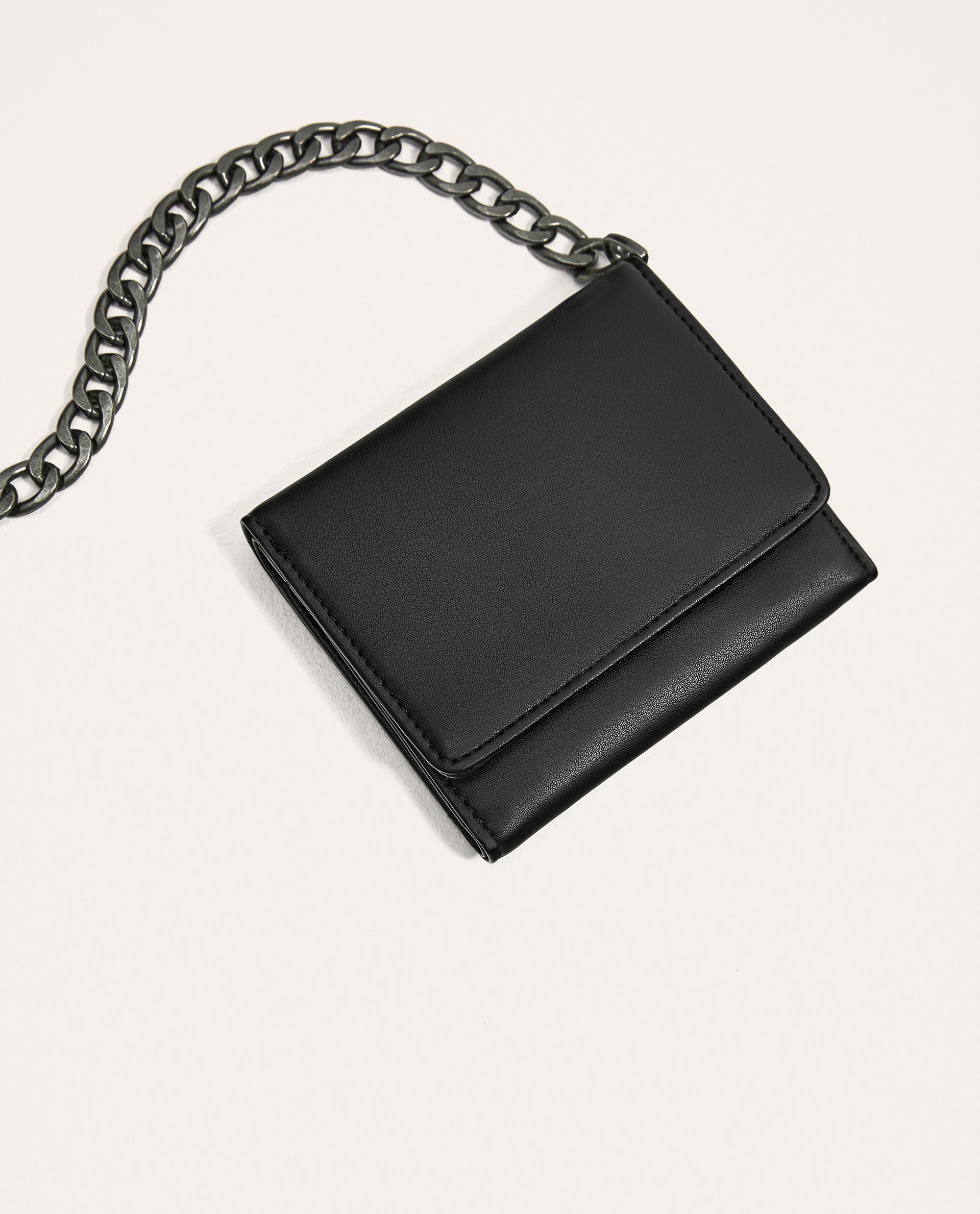 ●ZARA●秋新作♪WALLET WITH CHAIN LINK STRAP