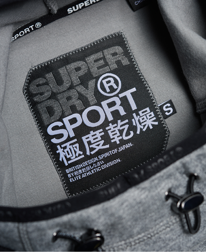 SALE!【Superdry】Gym Tech Cowl Hoodie☆GYMフーディ☆