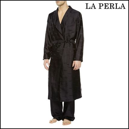 LA PERLA(ラペルラ)★ICONIC OYSTER Long night robe★