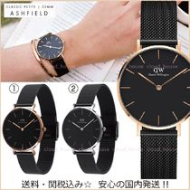 送料&税込【Daniel Wellington】CLASSIC PETITE★32mm★ASHFIELD