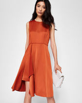 TED BAKER Front fold pleated dress ワンピース