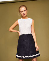 TED BAKER Daisy Chain lace shift dress ワンピース