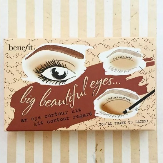 Benefit☆BIG BEAUTIFUL EYES eye contour kit 美しい目に!