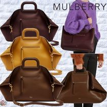 Mulberry☆Brimley Tote Silky Calf 大き目 トートバッグ 3way