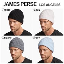 JAMES PERSE(ジェームスパース) ニットキャップ・ビーニー 【Justin Bieber愛用】☆17AW新作☆RIBBED CASHMERE BEANIE
