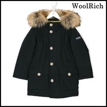 【関税/送料込】WOOLRICH PARKA BLUE NAVY LITTLE GIRL 国内発送