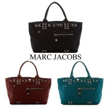 ★MARC JACOBS★Canvas Chipped Studs Tote