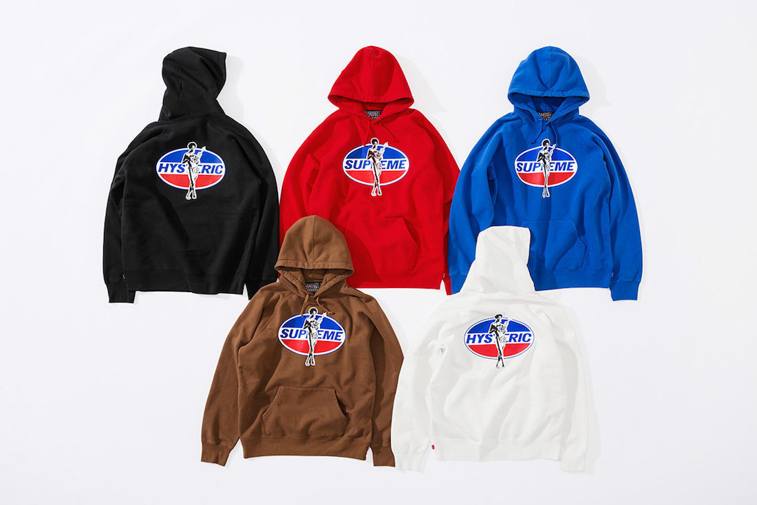 ☆Supreme☆ HYSTERIC GLAMOUR Hooded Sweatshirt