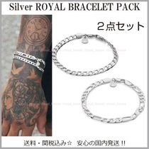Chained & Able(チェーンドアンドエイブル) ブレスレット 国内発送【Chained&Able】Silver Royalブレスレット☆2点セット