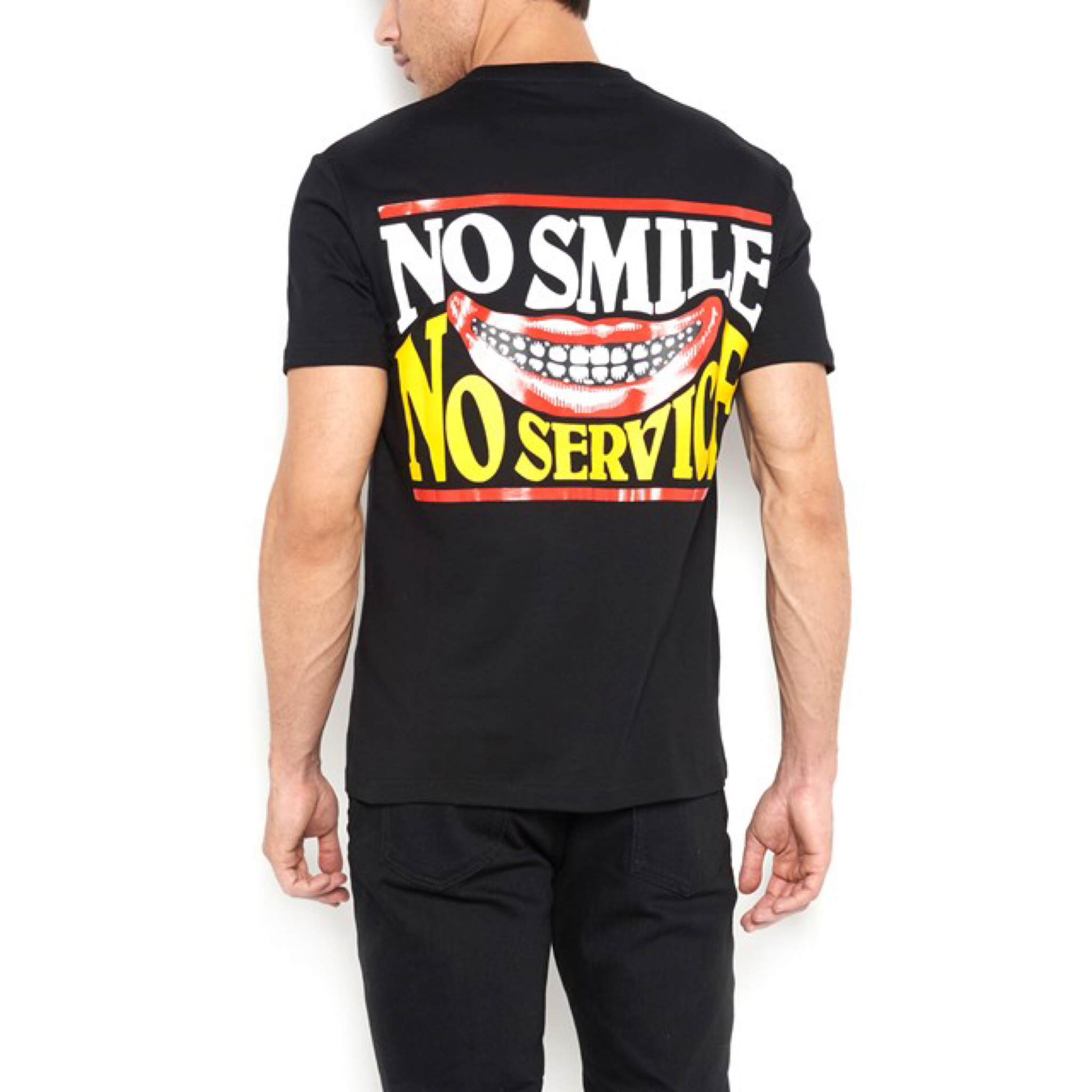 新作【Stella McCartney】No Smiles Tシャツ
