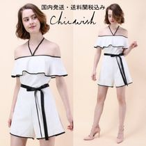国内発・送関込み☆Chicwish☆The Feeling Halter Neck Playsuit
