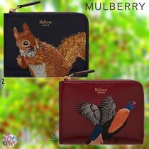 Mulberry☆Part Zip Coin Pouch Squirrel(リス) Pheasant(キジ)