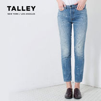 TALLEY ジーンズ デニム 01 004 0050 HIGH RISE ANKLE SLIM JAC