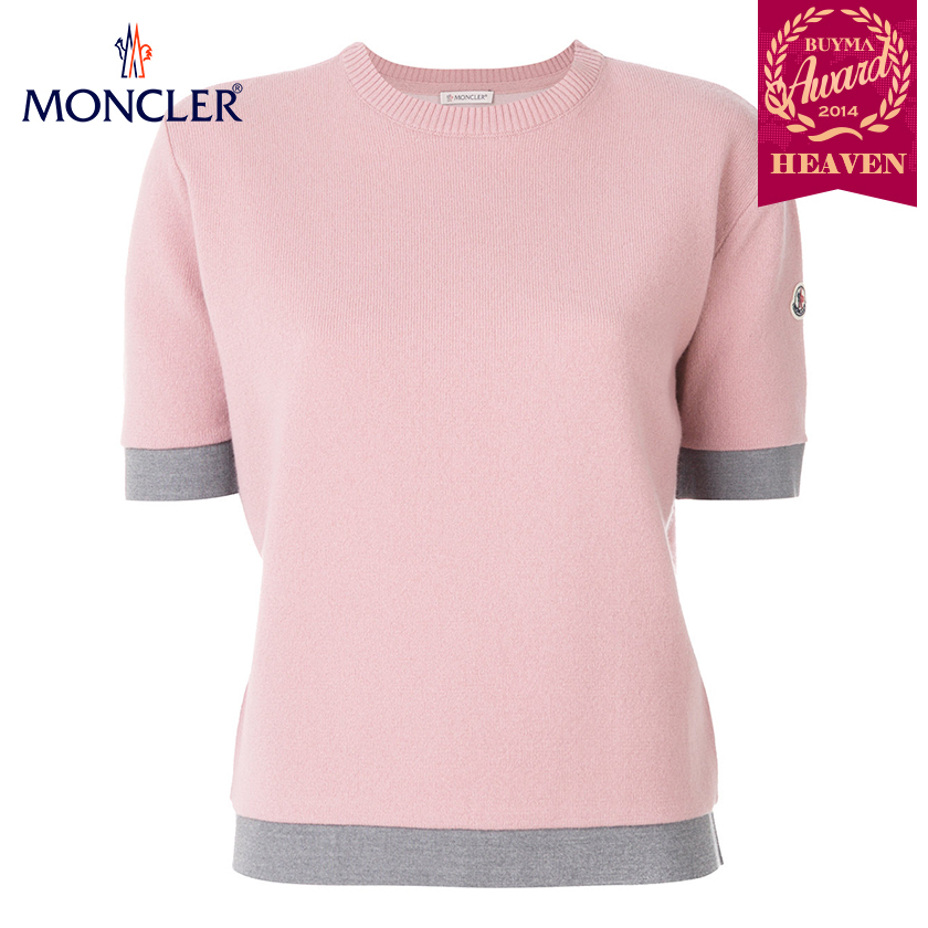 TOPセラー賞受賞!17/18秋冬┃MONCLER★KNITTED TOP_ローズ