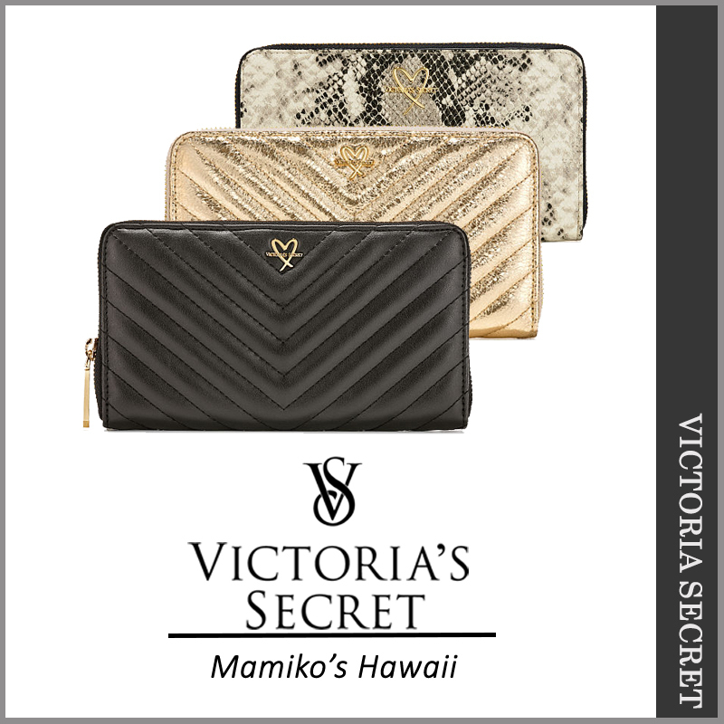 【国内発送・関税込】 Victoria's Secret NEW! V-Quilt Zip