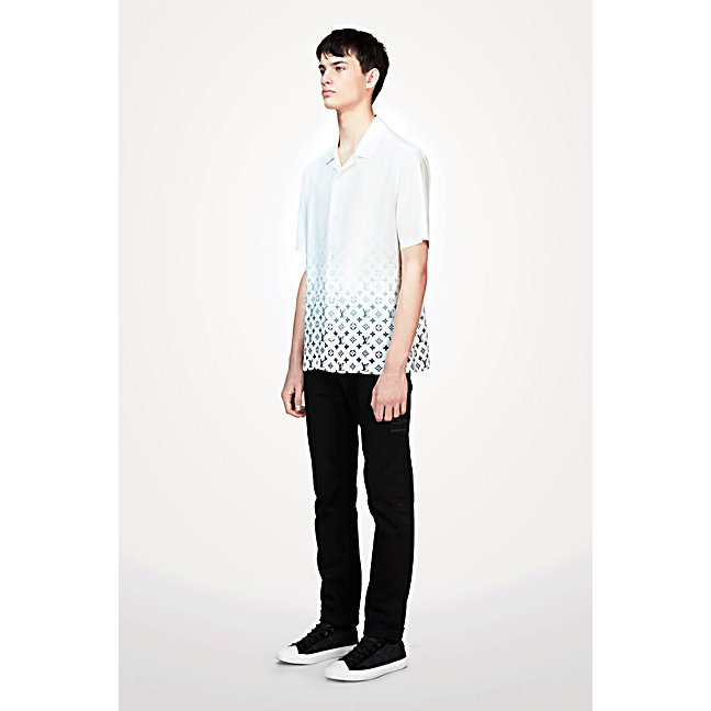 17AW◆LOUIS VUITTON◆フラグメントハワイアンシャツ