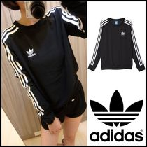 ☆adidas☆_3STRIPES SWEAT BLACK [SIZE:XS~M]