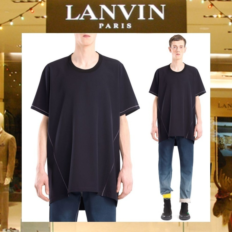【17AW NEW】 LANVIN_men /ロング TシャツNV