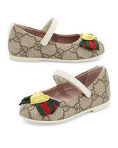 GUCCI ベビーシューズ Supreme Heart Mary Jane Flat