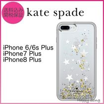 kate spade◆iPhone 6Plus/7Plus/8Plus◆キラキラ星グリッター