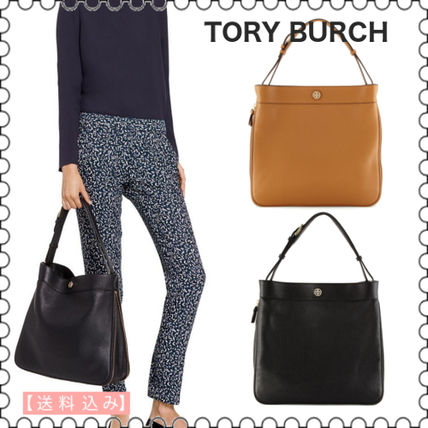 【Tory Burch】ROBBINSON PEBBLE HOBOバッグ★(正規)
