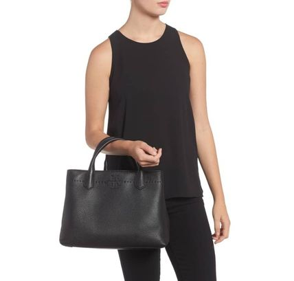 Tory Burch トートバッグ セール★Tory Burch★MCGRAW TRIPLE COMPARTMENT TOTE(7)