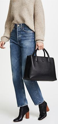Tory Burch トートバッグ セール★Tory Burch★MCGRAW TRIPLE COMPARTMENT TOTE(8)