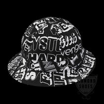 FW17 SUPREME HYSTERIC GLAMOUR TEXT BELL HAT BLACK 送料無料