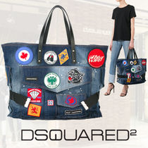 DSQUARED2 アップリケ装飾 トートバッグ S17SP20921246 ◇