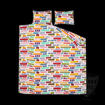 SUPREME HYSTERIC GLAMOUR TEXT DUVET+PILLOW SET 送料無料