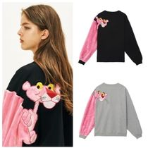 STEREO VINYLS COLLECTION(ステレオビニールズコレクション) ニット・セーター STEREO VINYLSのAW17 Pink Panther Faux Fur Sleeve Sweatshirts