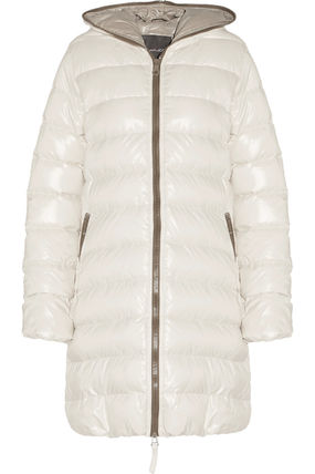 Ace quilted shell hooded down coat(送料・関税込)おはやめに