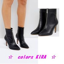 ASOS ELLISON Pointed Zip Boots♪