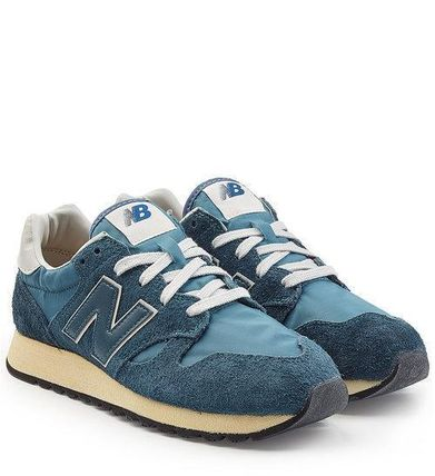いいね☆New Balance☆ U520D Sneakers with Suede and Mesh