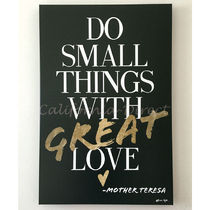 Oliver Gal 特大 76x114cm Do Things With Love キャンバス