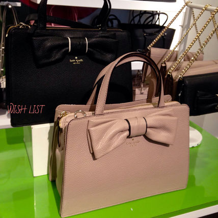 kate spade★SALE!★lise★rosewood place★リボン付き★2way