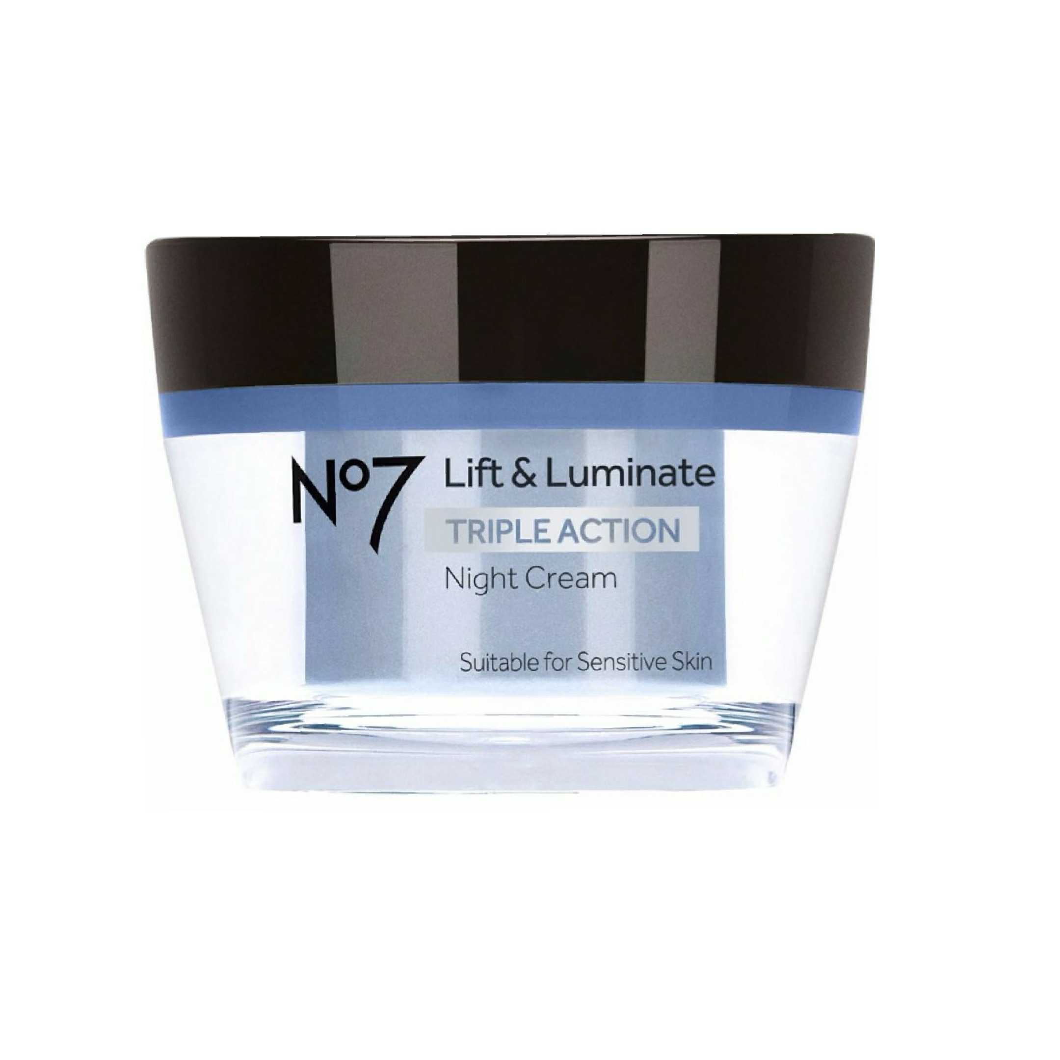 ★Boots★ No7  Lift & Luminate Triple Action 夜用 クリーム