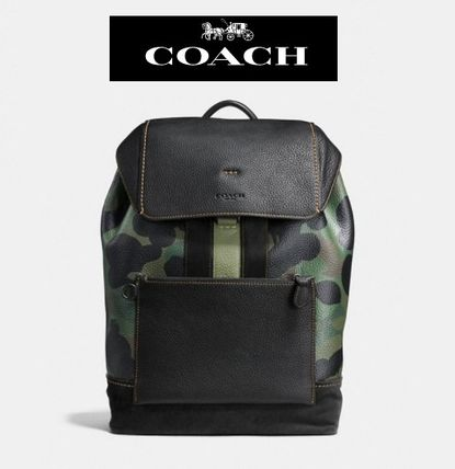 SALE!関税負担Manhattan Backpack In Wild Beast Pebble Leather